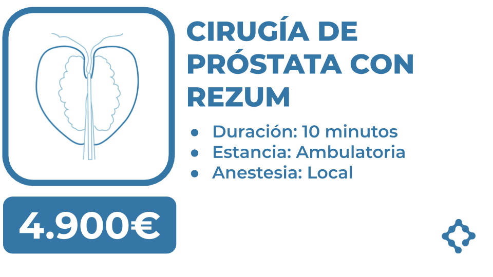 operacion rezum prostata